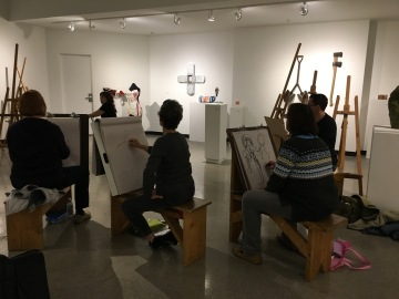 First class 2.9.17 - Gesture Drawing