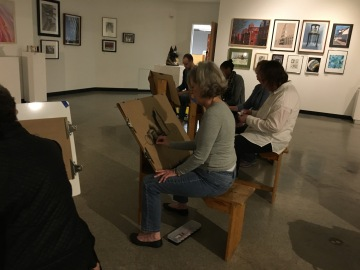 3.30.17 Evening Basic Drawing - SP17 Class 8 Chiaroscuro, Continuous Tone & Core Shadow, Part 2 10