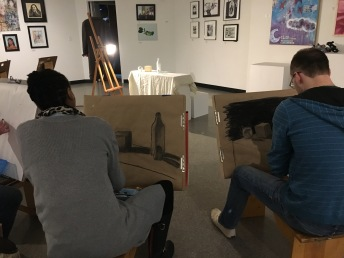 3.30.17 Evening Basic Drawing - SP17 Class 8 Chiaroscuro, Continuous Tone & Core Shadow, Part 2 14