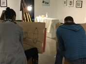3.30.17 Evening Basic Drawing - SP17 Class 8 Chiaroscuro, Continuous Tone & Core Shadow, Part 2 6
