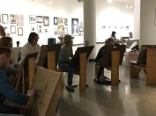 3.30.17 Evening Basic Drawing - SP17 Class 8 Chiaroscuro, Continuous Tone & Core Shadow, Part 2 7