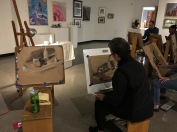 3.30.17 Evening Basic Drawing - SP17 Class 8 Chiaroscuro, Continuous Tone & Core Shadow, Part 2 9