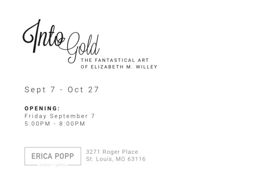 Elizabeth M. Willey Into Gold Showcard Back 9.7.18